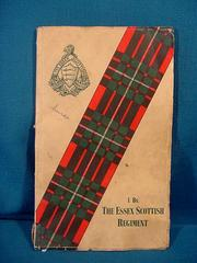 Cover of: I Battalion, the Essex Scottish Regiment, allied with the Essex Regiment, 1939-1945 | R. W. Meanwell