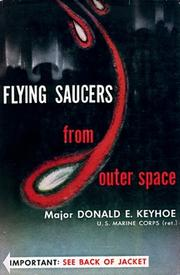 Cover of: Flying saucers from outer space
