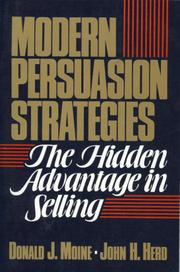 Cover of: Modern persuasion strategies