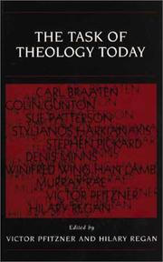 Cover of: The task of theology today
