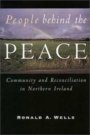 Cover of: People behind the peace | Ronald Wells