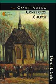 Cover of: The continuing conversion of the church