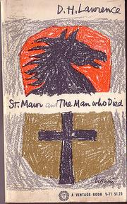 Cover of: St. Mawr, and The man who died