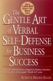 Cover of: Gentle Art of Verbal Self Defense for Business Success