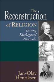 Cover of: The Reconstruction of Religion
