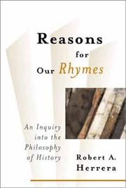 Cover of: Reasons for our rhymes