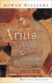 Arius by Rowan Williams