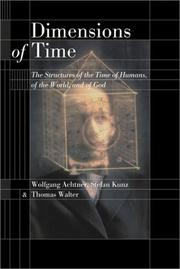 Cover of: Dimensions of time | Wolfgang Achtner