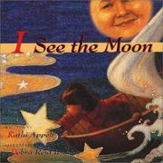Cover of: I see the moon