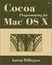 Cover of: Cocoa programming for Mac OS X