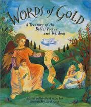 Cover of: Words of Gold: A Treasury of the Bible's Poetry and Wisdom