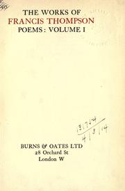 Cover of: The works