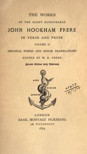 Cover of: Works, in verse and prose
