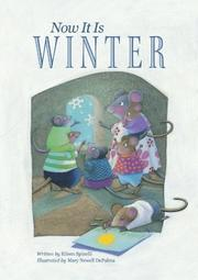 Cover of: Now it is winter