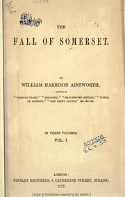 Cover of: The fall of Somerset
