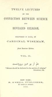 Cover of: Cardinal Wiseman's works