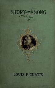 Cover of: Story and song | Louis Foulk Curtis