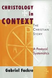 Cover of: Christology in Context