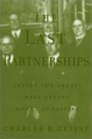 Cover of: The Last Partnerships