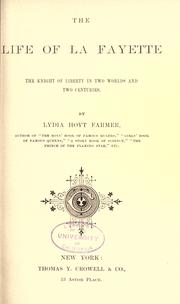 Cover of: The life of La Fayette