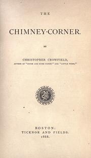 Cover of: The chimney-corner