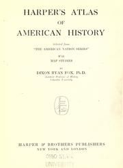 Cover of: Harper's atlas of American history