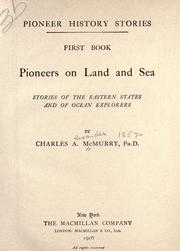 Cover of: Pioneers on land and sea