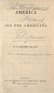 Cover of: American and the Americans
