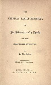 Cover of: American family Robinson | D. W. Belisle