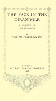 Cover of: The face in the girandole
