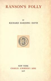 Cover of: The novels and stories of Richard Harding Davis ..