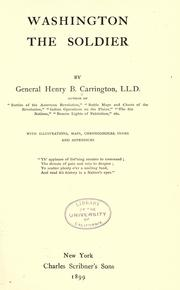 Cover of: Letters and recollections of George Washington