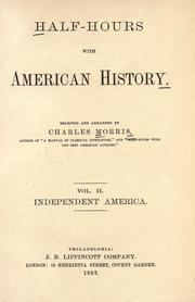 Cover of: Half-hours with American history