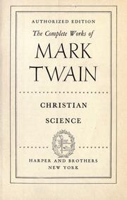 Cover of: The complete works of Mark Twain