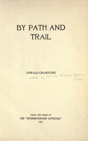Cover of: By path and trail | Harris, William Richard