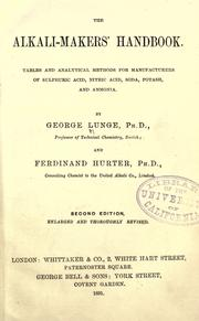 Cover of: The alkali-makers' handbook