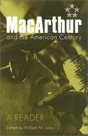 Cover of: MacArthur and the American century |
