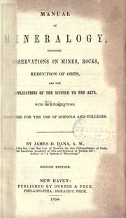 Manual of mineralogy by James D. Dana