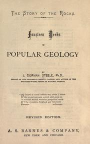 Cover of: Fourteen weeks in popular geology