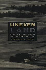 Cover of: Uneven land