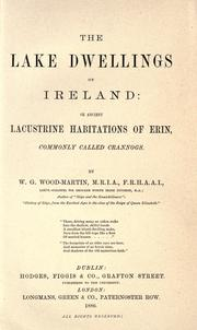 Cover of: The lake dwellings of Ireland