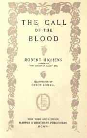 Cover of: The call of the blood