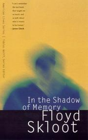Cover of: In the shadow of memory