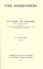 Cover of: The Herkomers