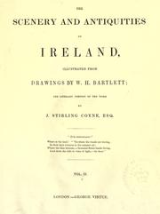 Cover of: The scenery and antiquities of Ireland