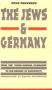Cover of: The Jews & Germany | Enzo Traverso