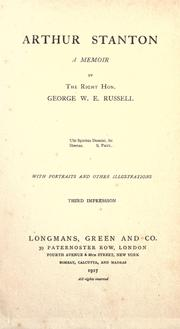 Cover of: Arthur Stanton | George William Erskine Russell