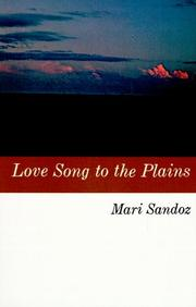 Cover of: Love song to the Plains