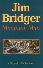 Cover of: Jim Bridger, mountain man