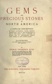 Cover of: Gems and precious stones of North America. | George F. Kunz